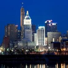 Skyscrapers in a city Cincinnati Ohio