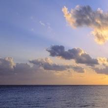 Sunset 7 Mile Beach Cayman Islands Caribbean