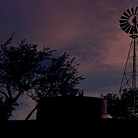 Sunset Cowboys Texas