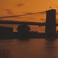 Sunset Skyline New York City NY
