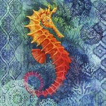 Seahorse Batik