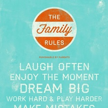 Dream Big Family Rules