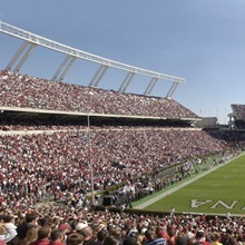 South Carolina Photographs Williams Brice Stadium: Home of the Gamecocks