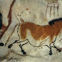Cave painting, Lascaux, Aquitaine, France