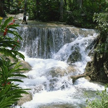 Dunns River Falls, Ocho Rios, Jamaica, West Indies, Caribbean