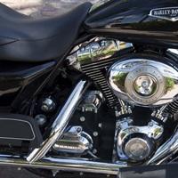 Harley Davidson motorcycle, Key West, Florida