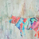 Cow Canvas Art Prints   Cow Panoramic Photos, Posters ...