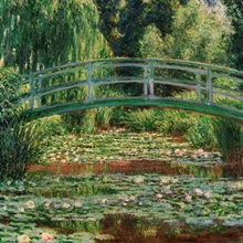 Japanese Footbridge And the Water Lily Pool, Giverny, 1899