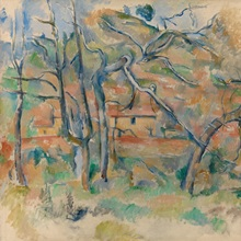 Trees And Houses, Provence, c1885