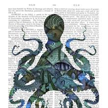 Fishy Blue Octopus