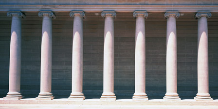 Row of Columns San Francisco CA