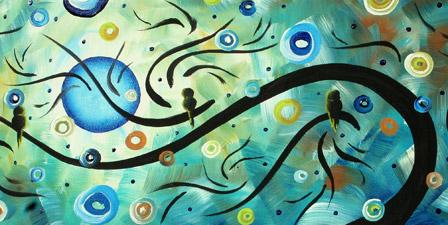 Moon Dance II - Landscape Painting