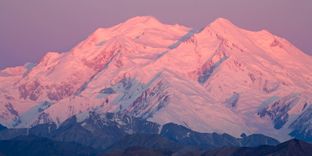 Mt. McKinley as seen from Eielson visitor center, Denali ...