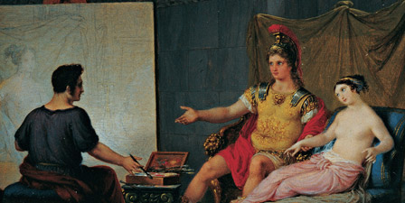 Apelles Painting Campaspe in the Presence of Alexander th...