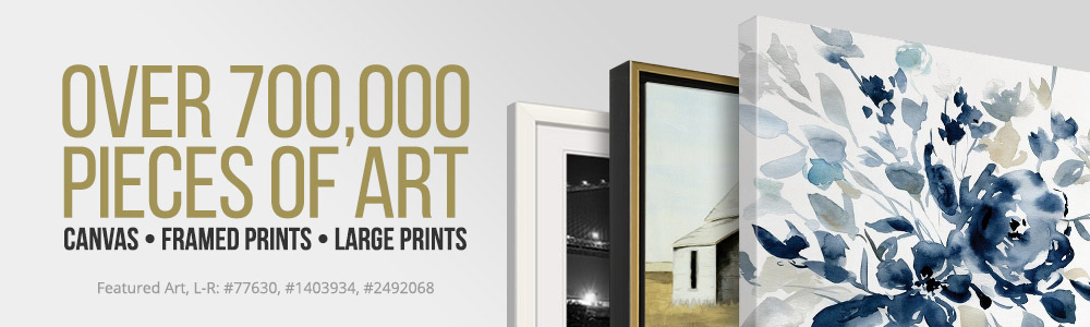 Over 700,000 Pieces Of Art   Canvas, Framed Prints, Large Sizes