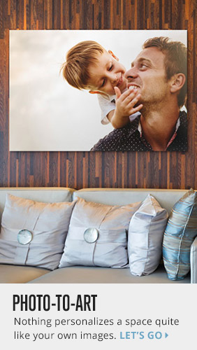 Make Canvas Art Prints from Your Favorite Photos