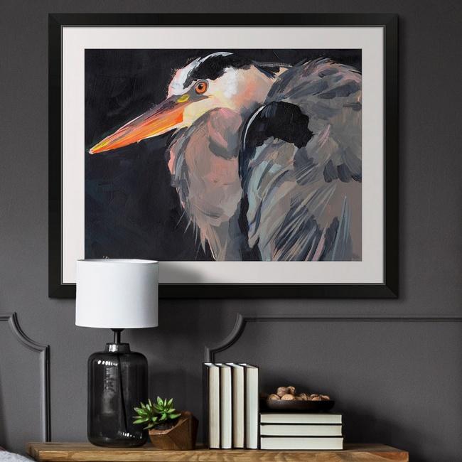 Modern Heron Décor for the Entryway