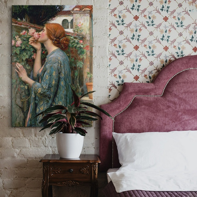 Classic Art for Traditional Bedroom Décor