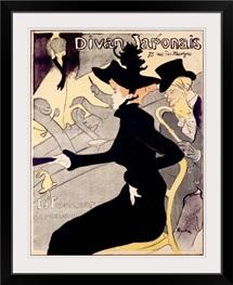 Divan Japonais, Vintage Poster, by Henri de Toulouse Lautrec
