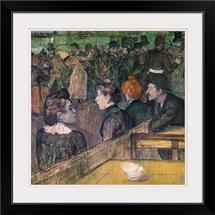 At the Moulin de la Galette, 1899 (oil on canvas)