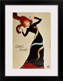 Jane Avril (1868 1943) 1899 (colour litho)