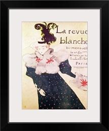 Poster advertising La Revue Blanche, 1895 (litho)