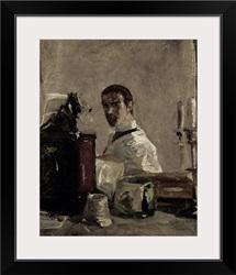 Self Portrait, 1880 (oil on panel)