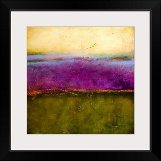 Paisley Haze Ii Wall Art Canvas Prints Framed Prints