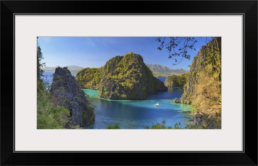 Philippines Palawan Coron Island Kayangan Lake
