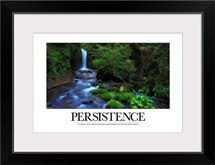 Inspirational Poster: It is attitude, not circumstances, that makes success possible