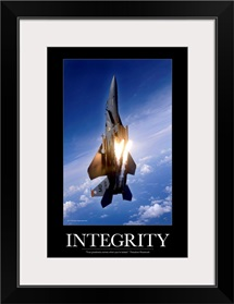 Military Motivational Poster: Integrity