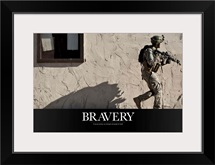 US Army Poster: Bravery