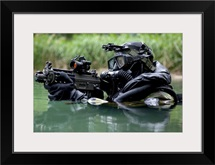 Special Forces combat diver takes a look at his compass