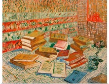 The Yellow Books, 1887 (oil on canvas)
