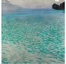 Attersee By Gustav Klimt