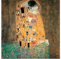 Kiss, By Gustav Klimt, C. 1908. Vienna, Austria