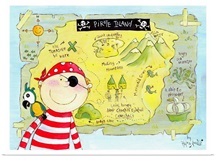 Map of Pirate Island