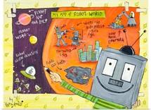 My Map of Robot World