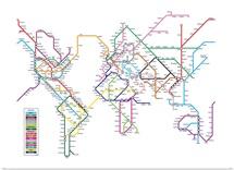 World Tube Metro Map
