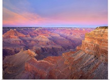 Grand Canyon as seen from Mohave Point at sunset Grand Canyon National Park Arizona