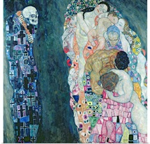 Death and Life, c.1911 (oil on canvas)