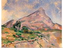 Mont Sainte Victoire, 1897 98 (oil on canvas)