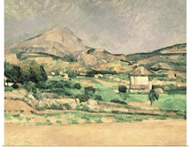 Montagne Sainte Victoire, c.1882 85 (oil on canvas)