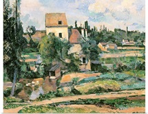 Moulin de la Couleuvre at Pontoise, 1881
