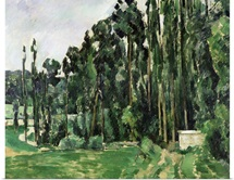 The Poplars, c.1879 82 (oil on canvas)