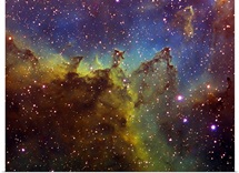 Part of the IC1805 Heart nebula in Cassiopeia
