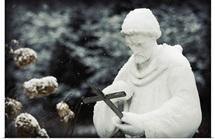 Saint in the Snow