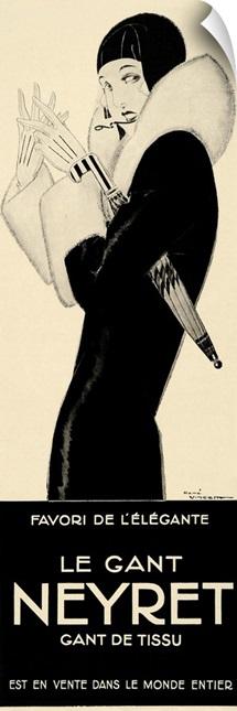 Le Gant Neyret - Vintage Fashion Advertisement