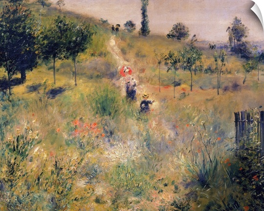 The Path through the Long Grass, c.1875 (oil on canvas)