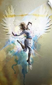 Jumper (Paint Strokes)